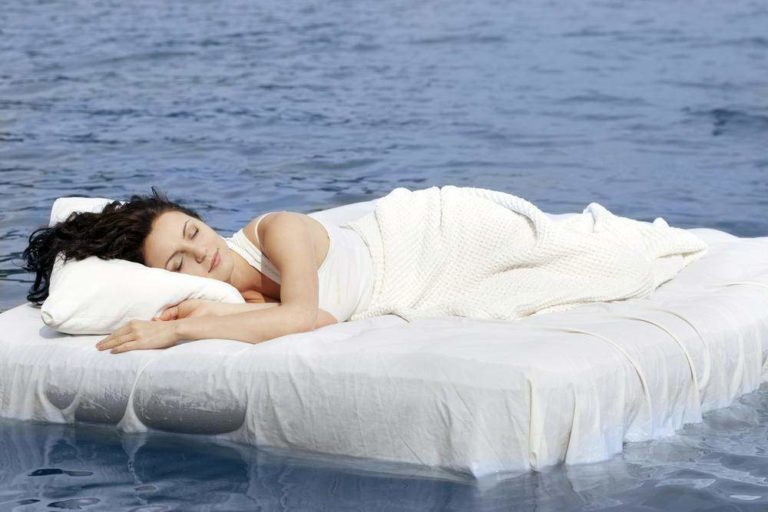 Вред сна на надувном матрасе