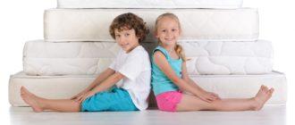 Выбрать матрас для ребенка