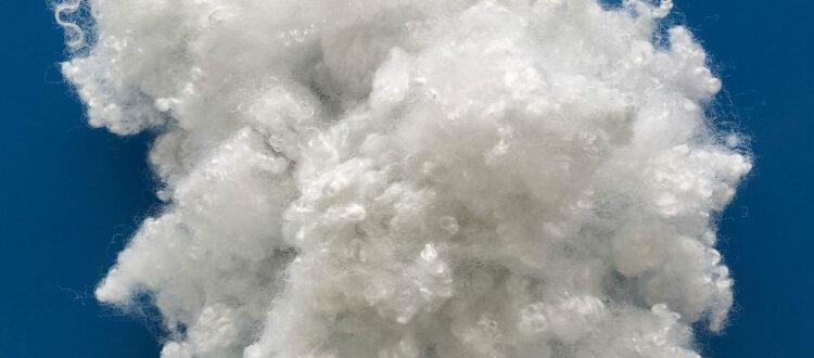 Полиэфирное волокно пружинки